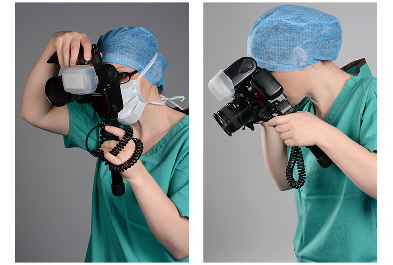 Modern medical photographer