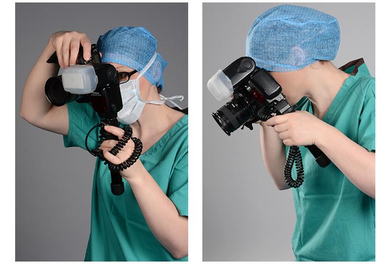 Modern medical photographer