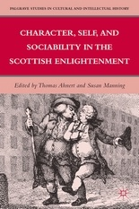 'Character, Self, and Sociability in the Scottish Enlightenment'