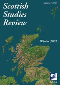 Scottish Studies Review