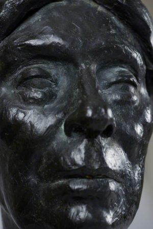 Bust of Helen Cruickshank, by Vincent Butler. Glenesk Folk Museum.